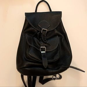 Roots pebble leather backpack model Alex NWOT